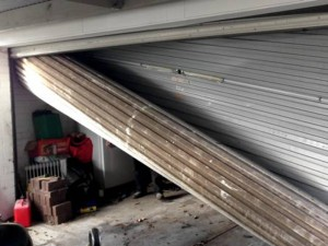 garage door insurance claims